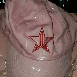 Jeffree Star pink dad hat